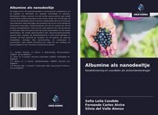 Bookcover of Albumine als nanodeeltje