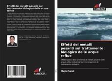 Copertina di Effetti dei metalli pesanti sul trattamento biologico delle acque reflue