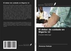 Bookcover of El deber de cuidado en Nigeria 12