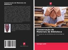 Conservação de Materiais de Biblioteca kitap kapağı