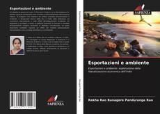 Copertina di Esportazioni e ambiente