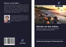 Bookcover of Uitvoer en het milieu