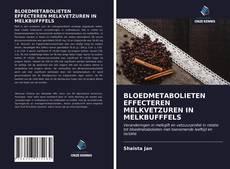 Bookcover of BLOEDMETABOLIETEN EFFECTEREN MELKVETZUREN IN MELKBUFFFELS