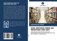 Buchcover von EINE UMFRAGE ÜBER DIE BENUTZER VON SKIT