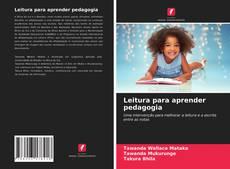 Capa do livro de Leitura para aprender pedagogia
