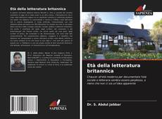 Bookcover of Età della letteratura britannica
