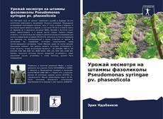 Portada del libro de Урожай несмотря на штаммы фазоликолы Pseudomonas syringae pv. phaseolicola