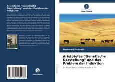 """Buchcover von Aristoteles 'Genetische Darstellung"""" und das Problem der Induktion"""