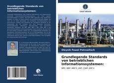 Capa do livro de Grundlegende Standards von betrieblichen Informationssystemen: