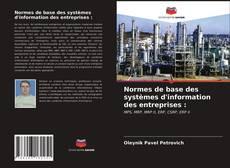 Capa do livro de Normes de base des systèmes d'information des entreprises :
