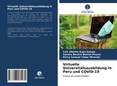 Portada del libro de Virtuelle Universitätsausbildung in Peru und COVID-19