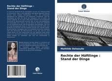 Bookcover of Rechte der Häftlinge : Stand der Dinge