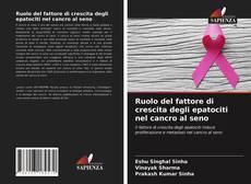 Copertina di Ruolo del fattore di crescita degli epatociti nel cancro al seno