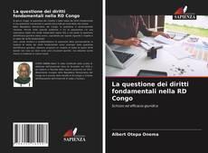 Portada del libro de La questione dei diritti fondamentali nella RD Congo