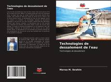 Bookcover of Technologies de dessalement de l'eau