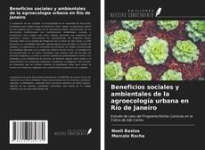 Copertina di Beneficios sociales y ambientales de la agroecología urbana en Río de Janeiro