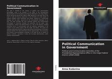 Bookcover of Political Communication in Government