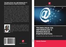 Portada del libro de TECNOLOGIA DA INFORMAÇÃO E DEMOCRACIA PARTICIPATIVA: