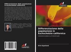 Bookcover of Differenziazione della popolazione in Eschscholzia californica