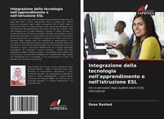 Integrazione della tecnologia nell'apprendimento e nell'istruzione ESL kitap kapağı