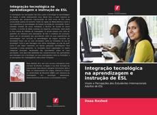 Capa do livro de Integração tecnológica na aprendizagem e instrução de ESL