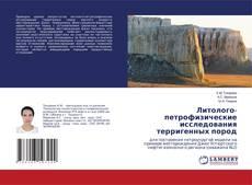 Portada del libro de Литолого-петрофизические исследования терригенных пород