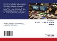 Copertina di Robust Control of MIMO System