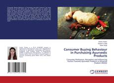 Обложка Consumer Buying Behaviour in Purchasing Ayurvedic Products