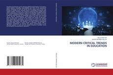 MODERN CRITICAL TRENDS IN EDUCATION kitap kapağı