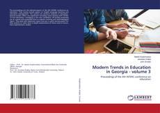 Buchcover von Modern Trends in Education in Georgia - volume 3