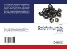 Bookcover of Morphochemical evaluation of Jamun (Syzygium cuminii Skeels)
