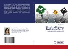 Buchcover von Diversity of Business Development Vol. V.