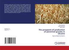Bookcover of The prospects of production of perennial grasses in Ukraine