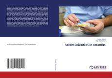 Bookcover of Recent advances in ceramics