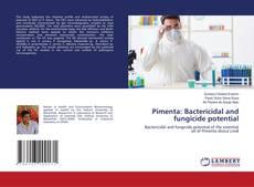Capa do livro de Pimenta: Bactericidal and fungicide potential