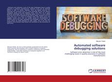 Buchcover von Automated software debugging solutions