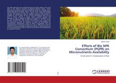 Bookcover of Effects of Bio NPK Consortium (PGPR) on Micronutrients Availability