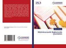 Capa do livro de Metinlerarasılık Bağlamında Çeviribilim