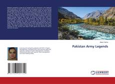 Couverture de Pakistan Army Legends