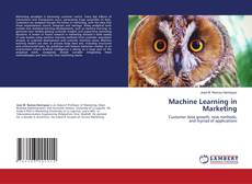 Bookcover of Machine Learning in Marketing