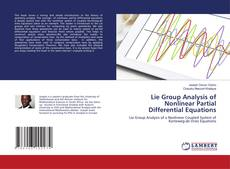 Bookcover of Lie Group Analysis of Nonlinear Partial Differential Equations