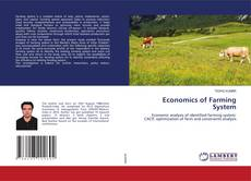 Bookcover of Economics of Farming System