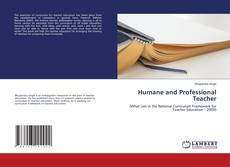 Copertina di Humane and Professional Teacher