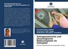 Portada del libro de Antropometrische und physiologische Nationalspieler im Volleyball