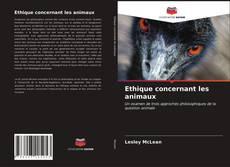 Copertina di Ethique concernant les animaux