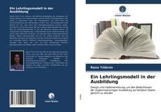 Bookcover of Ein Lehrlingsmodell in der Ausbildung