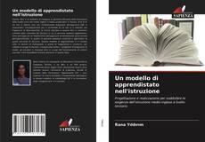Bookcover of Un modello di apprendistato nell'istruzione