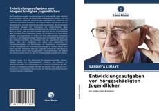 Entwicklungsaufgaben von hörgeschädigten Jugendlichen kitap kapağı