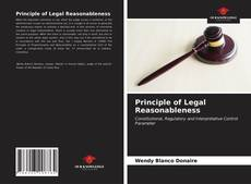 Обложка Principle of Legal Reasonableness