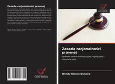Copertina di Zasada racjonalności prawnej